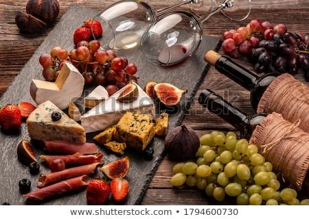 Pić tabeli restauracji duży chłop ślub Zdjęcia stock © ajfilgud