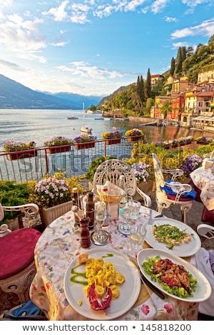 meer · landschap · regio · Italië · Europa · wolken - stockfoto © haraldmuc
