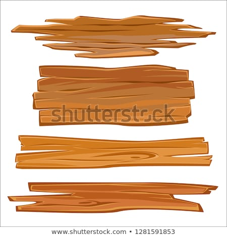 Foto stock: Cracks On A Wooden Plank