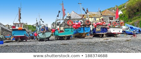 Fishing Boat at Cadgwith Cove Stock photo © mosnell