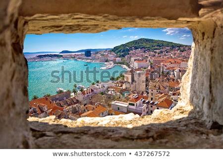 далматинец побережье мнение город пляж Сток-фото © macsim