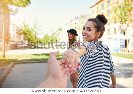 High Key Pretty Young Woman Stock photo © rcarner