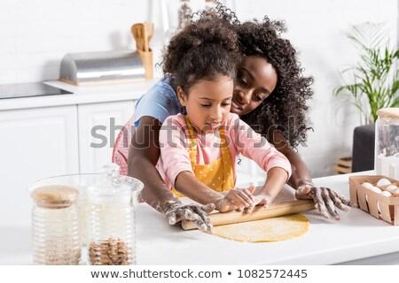 Fiatal gyermek sodrófa izolált fehér étel Stock fotó © gewoldi