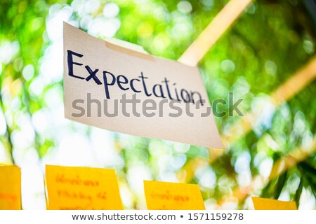 Outsourcing Concept on Green Target. Stock photo © tashatuvango