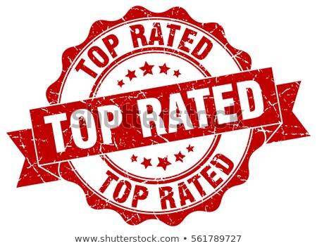 Top rated stamp Stock photo © burakowski