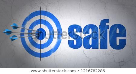 Data Privacy Concept - Hit Target. Stock photo © tashatuvango