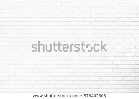 room interior with white brick wall and wood floor stock photo © stevanovicigor