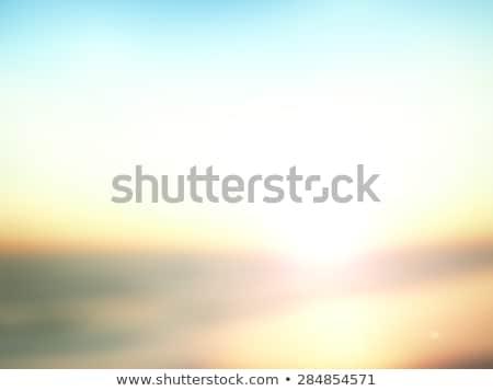 足音 · ビーチ · 海 · 海 · 旅行 - ストックフォト © meinzahn