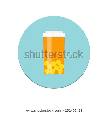 législation · orange · design · bouton · longtemps · ombres - photo stock © tashatuvango