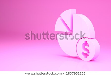 3D graphe d'affaires fond Finance entreprise marché Photo stock © designers
