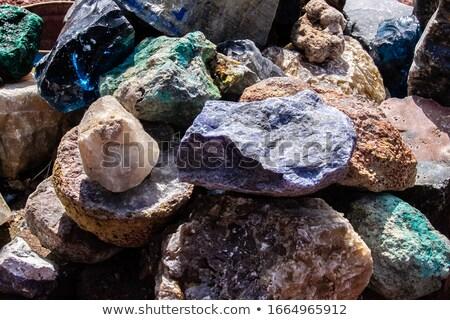toplama · farklı · parlak · ayarlamak · renkli · mücevherleri - stok fotoğraf © elenapro