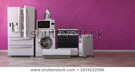 Foto stock: Tv · técnico · serviço · isolado · 3D · imagem