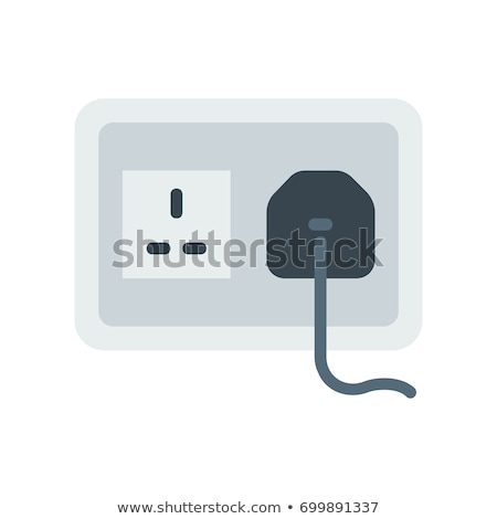 Vector electric plug and socket illustration   Stock photo © Mr_Vector