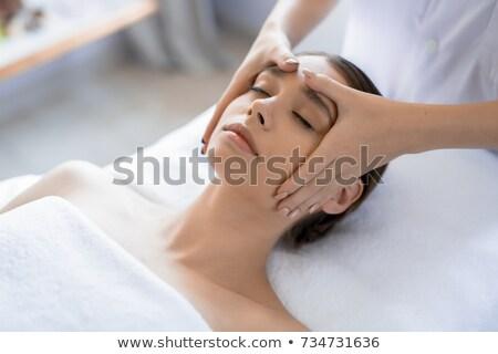corpo · cuidar · mulher · luxo · massagem - foto stock © CandyboxPhoto