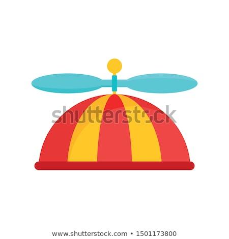 Man wearing propeller hat. Stock photo © iofoto