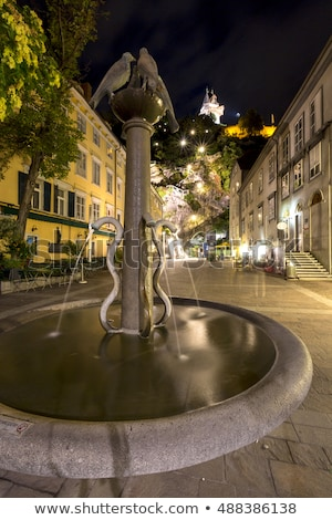 Water well on Schlossberg hill in Graz city Stock photo © pixachi
