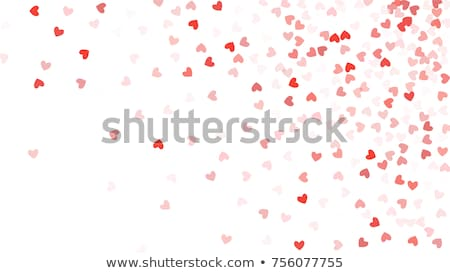 harten · valentijnsdag · bloem · liefde · hart · paar - stockfoto © lienchen020_2
