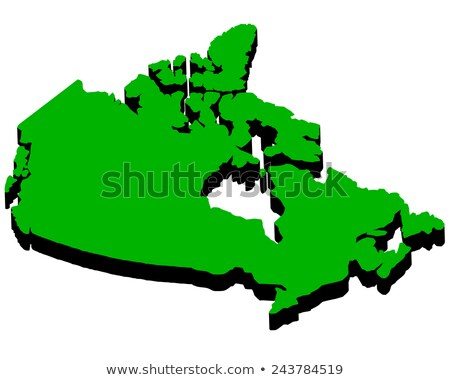 map of Canada in the amount of Stock photo © mayboro1964