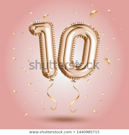 Number Ten Stock photo © Artlover