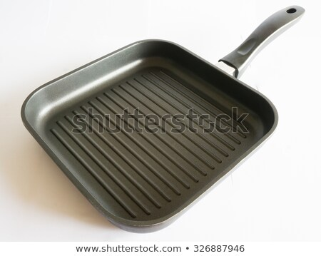 Teflon coated grill pan isolated on white Stock photo © ozgur