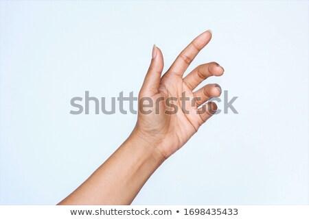 Közelkép kép testrész üzlet kezek szexi Stock fotó © deandrobot