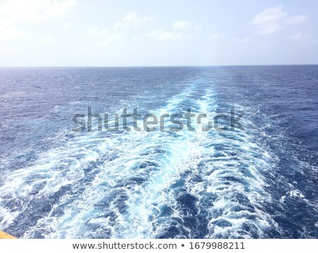ship wake on the north atlantic stock photo © arrxxx