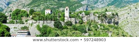 ciudad · paredes · ruinas · pared · rock · piedra - foto stock © master1305