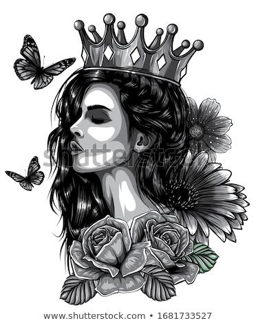 Stock photo: Tattoo Princess