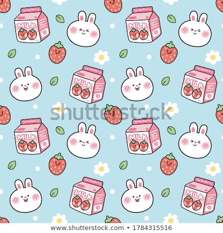 Kawaii autocollants cute japonais animaux bonbons Photo stock © sahua
