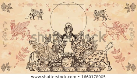 Ancient goddess Stock photo © Nekiy