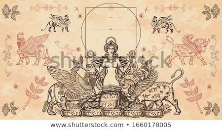 Ancient goddess stock photo © Nekiy