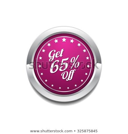 Get 65 Precent Off Pink Vector Icon Stock photo © rizwanali3d