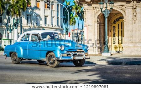 Straat landschap Havanna stedelijke stad Cuba Stockfoto © prill
