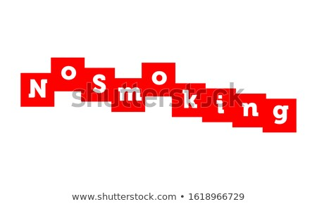 Addiction - White Word on Red Puzzles. Stock photo © tashatuvango
