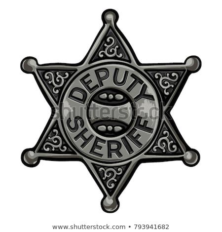 batı · şerif · natürmort · antika · kullanılmış · gürültü - stok fotoğraf © jamirae