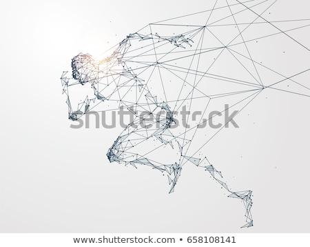 スポーツ · 技術 · 抽象的な · ビジネス · フィットネス · 健康 - ストックフォト © kentoh