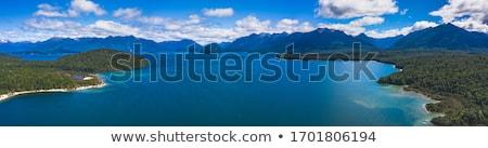 göl · Yeni · Zelanda · görmek · izlemek · muhteşem · gökyüzü - stok fotoğraf © lostation