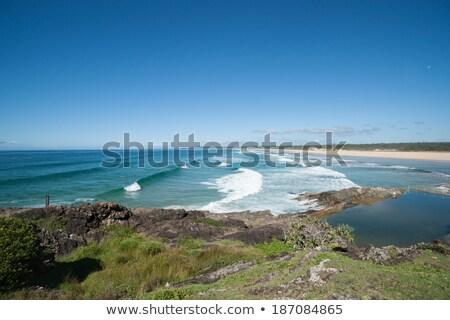 ビーチ ニューサウスウェールズ州 オーストラリア 港 北 海岸 ストックフォト © jeayesy