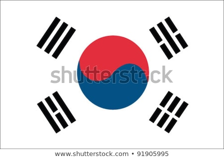 Flag of South Korea Stock photo © Lom