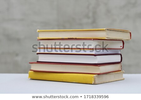 Stack of many books Stock photo © bluering