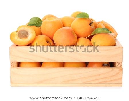 Frescos maduro bambú placa frutas Foto stock © Digifoodstock