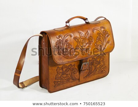 Hangbag in brown color Stock photo © bluering