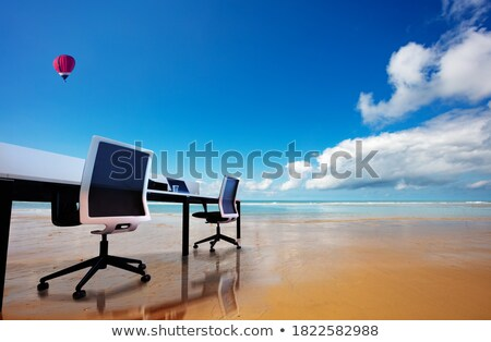 Hot and detached. stock photo © Fisher