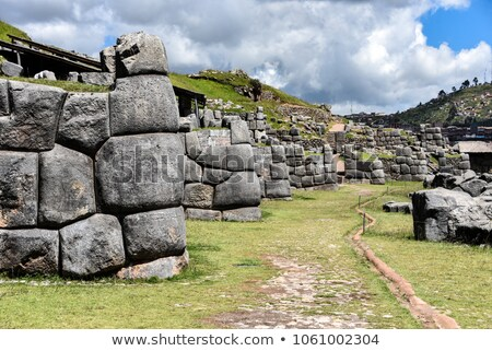 Sacsayhuaman : Inca archaeological site in Cusco, Peru Stock photo © Pakhnyushchyy