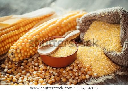 corn grits Stock photo © yelenayemchuk