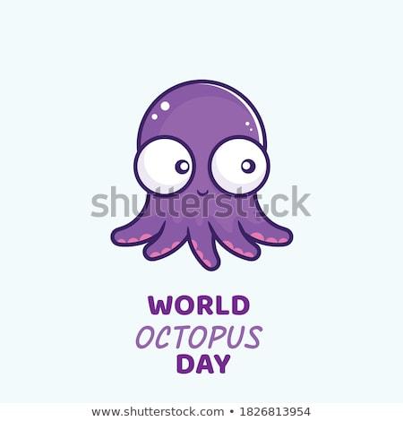 8 october World Octopus Day Stock photo © Olena