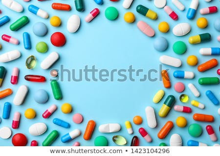 Сток-фото: таблетки · помочь · текста · сообщение · наркотики · письма
