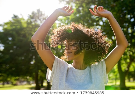 Foto stock: Baile · aire · libre · jóvenes · hermosa · bailarina · palacio