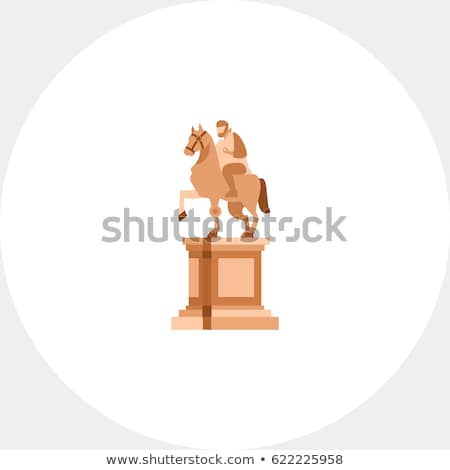 Statue in Campidoglio Square, Rome Stock photo © alessandro0770
