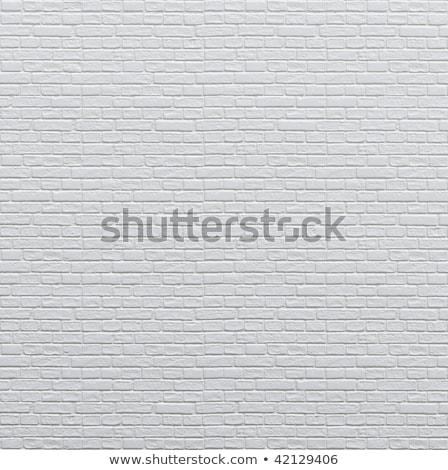 ブランド設定 白 レンガの壁 いたずら書き アイコン 周りに ストックフォト © tashatuvango